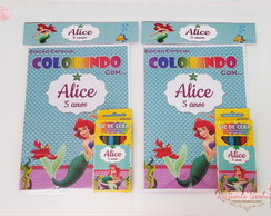 Kit Colorir Ariel