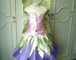 Vestido Barbie Fairytopia Butterfly