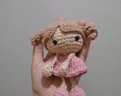 Boneca Amigurumi de Crochê no Elo7 | Ateliê da Shanne (B8FEF9) | 194x244