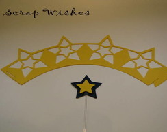 Wrap e topper Star 2 Amarelo