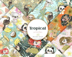 Kit digital - Tropical #M162