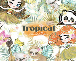 Kit digital - Tropical #M163