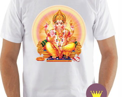 Camiseta Ganesha Deus do intelecto Hinduísmo