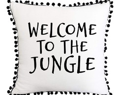 Capa de Almofada Welcome to the jungle