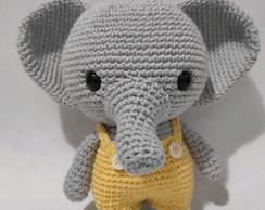Elefante Amigurumi ( apenas trabalho) - YouTube | 194x244