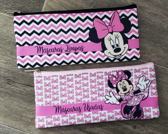 KIT PORTA MASCARA MINNIE