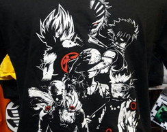 Camiseta Clássicos do Anime