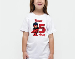 camiseta infantil lady bug