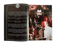 Caderno Death Note Livro da Morte Cosplay