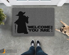 Capacho Divertido - Yoda (Welcome! You Are!