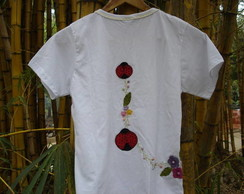 Camiseta costumizada Baby look