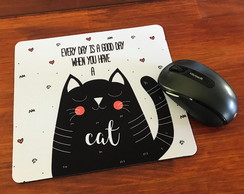 Mouse Pad Good Days Cats