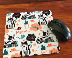 Mouse Pad Cats Meow