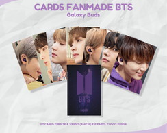 CARDS FANMADE - BTS: GALAXY BUDS (KPOP)