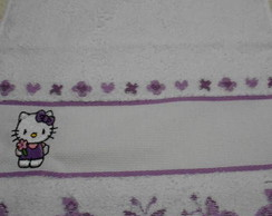 Toalha Escolar Hello Kitty