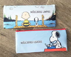 KIT PORTA MASCARA SNOOPY