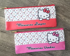KIT PORTA MASCARA HELLO KITTY