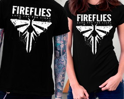 Camiseta The Last of Us Parte 2 Jogos Game Blusa Fireflies
