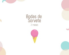 Kit Bodas de Sorvete