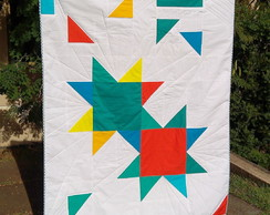 Manta de patchwork Quilt Big Bang