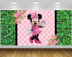 Painél Minnie Rosa Claro 2x1M- ARQUIVO DIGITAL
