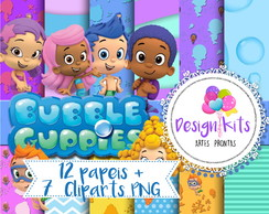 Bubble Guppies kit digital