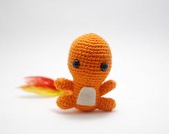 free pokemon amigurumi patterns charmander | Chibi Charmander ... | 194x244