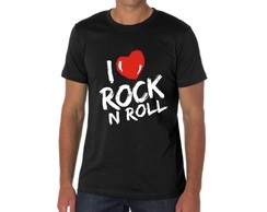CAMISETA I LOVE ROCK N ROLL