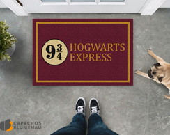 Capacho Divertido Expresso Hogwarts (Harry Potter)
