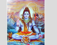 quadro lord shiva deus hindu hinduismo india yoga buda