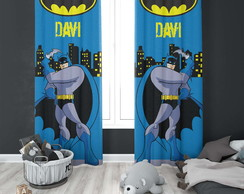 Cortina do Batman Blecaute Personalizado - 1,40m x 1,80m