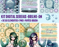 KIT DIGITAL SEREIA BRILHO