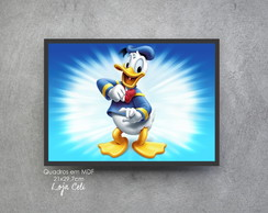 Quadrinho Decorativo Pato Donald