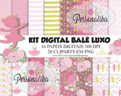 KIT DIGITAL BALÉ LUXO