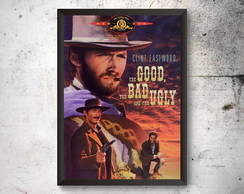 Quadro A4 Poster The Good The Bad And The Ugly