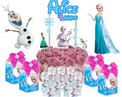 Kit Festa Frozen + Brinde