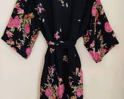 Robe estampado floral