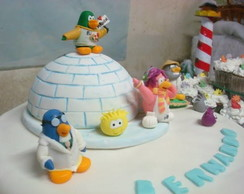 CLUB PENGUIN, IGLU E PINGUINS