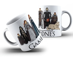 Caneca game of thrones #17