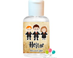 Álcool Gel 30ml - Harry Potter