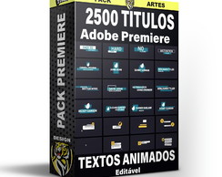 2500 Legendas Animadas Para Adobe Premiere Lower Thirds