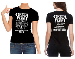 Camiseta Greta Van Fleet Worldwired tour 2020 Brazil