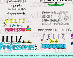 Arquivo kit Digital Frases Dia dos Professores Teacher