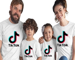 Kit 4 Camisetas Tik Tok