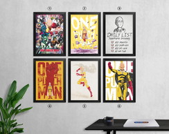 Quadro One Punch Man 24 x 32,7 cm - 1 un