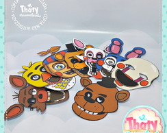 Máscaras Personalizadas Fnaf ( Five Nights At Freddys )