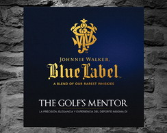 Placa Decorativa - Blue Label Johnnie Walker