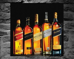 Placa Decorativa - Whiskey's Johnnie Walker