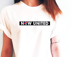 Camisa Feminina Now United