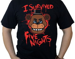 Camiseta Five Nights